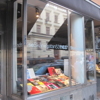 Record shop in Sodermalm