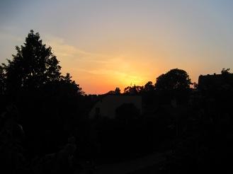 Sunset at Vita Bergen