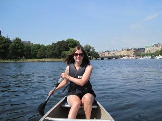 Rent a Canoe on Djorgarden