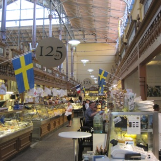 Browse the food in Ostermalms Saluhall
