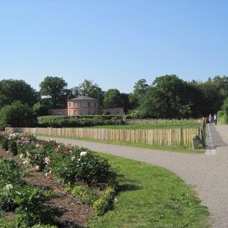 The crossroads in Rosendals Garden