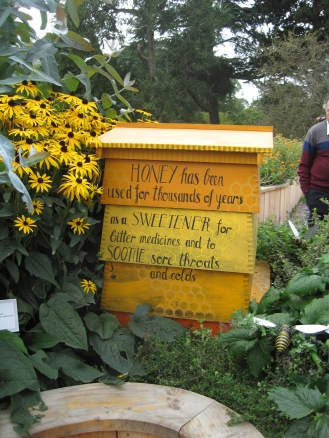 YELLOW: Honey Bees and sunflowers