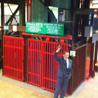 RED: Don't miss the ride up the mine shaft at Wieleczka Salt Mine