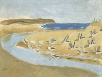 Sandpipers, Alnmouth, 1933 by Winifred Nicholson