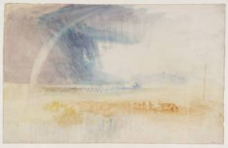 Rainbow Among Purple and Blue Clouds, 1840, by JMW Turner