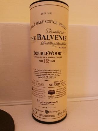 Mini-Whisky from the Caledonian Sleeper Train