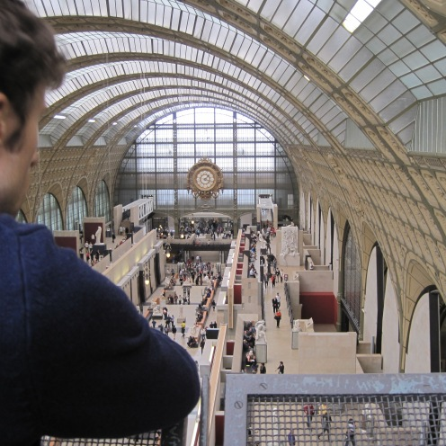 or this could be you: Enjoying art at the Musee D'Orsay!