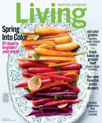 Bought: Martha Stewart Living Where: Airport, NYC