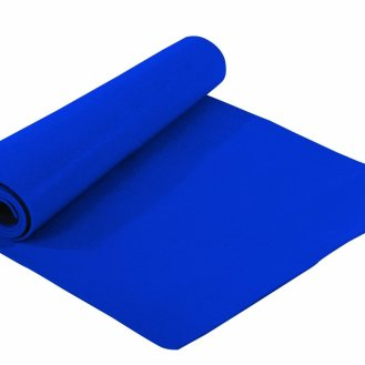 blue yoga mat