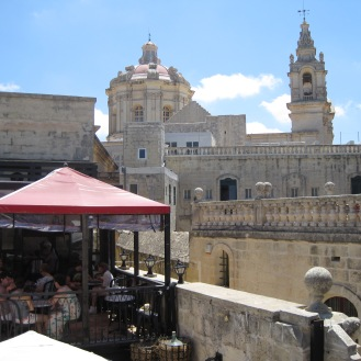 Fontanella Cafe in Mdina
