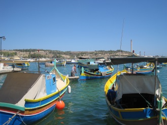 Marsaxlokk Fishing villiage