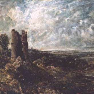 Sketch for 'Hadleigh Castle' circa 1828-9 John Constable 1776-1837 Purchased 1935 http://www.tate.org.uk/art/work/N04810