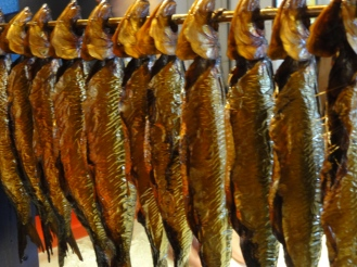 ORANGE Smoked fish in a Rogeri