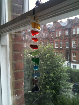 Jo Downs Glass hanging