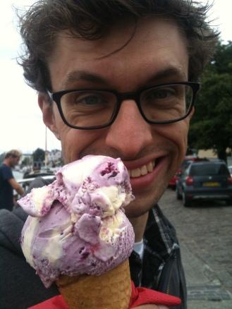 Purple Current Ice Cream