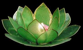 Lotus tea light holder