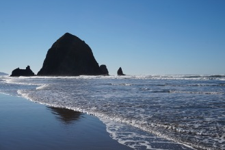 Haystack rock on Canon Beach
