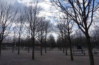 Jardin du Luxembourg in the Winter