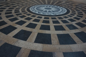 The floor of the Pantheon