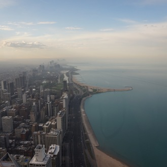 View from the Hancock tower
