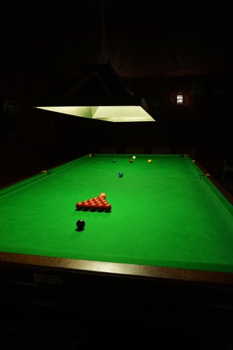 The Snooker Table, perfectly restored