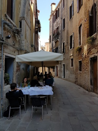 Dining at Antiche Carampane